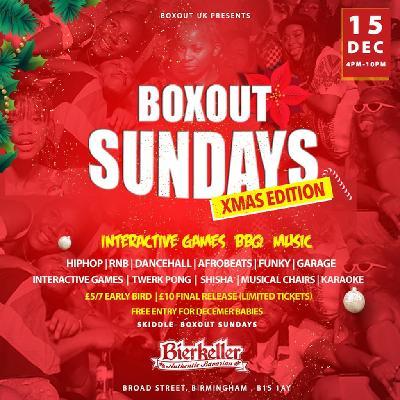 Boxout Sundays- Christmas Edition