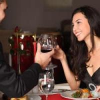 Greek themed singles supper