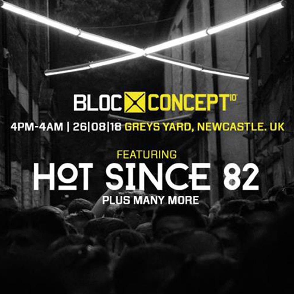 BLOC:Concept / Hot Since 82 / Greys Yard #DayNightBlocParty