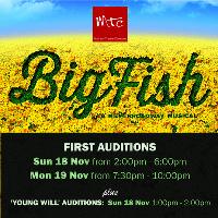 Big Fish - Auditions