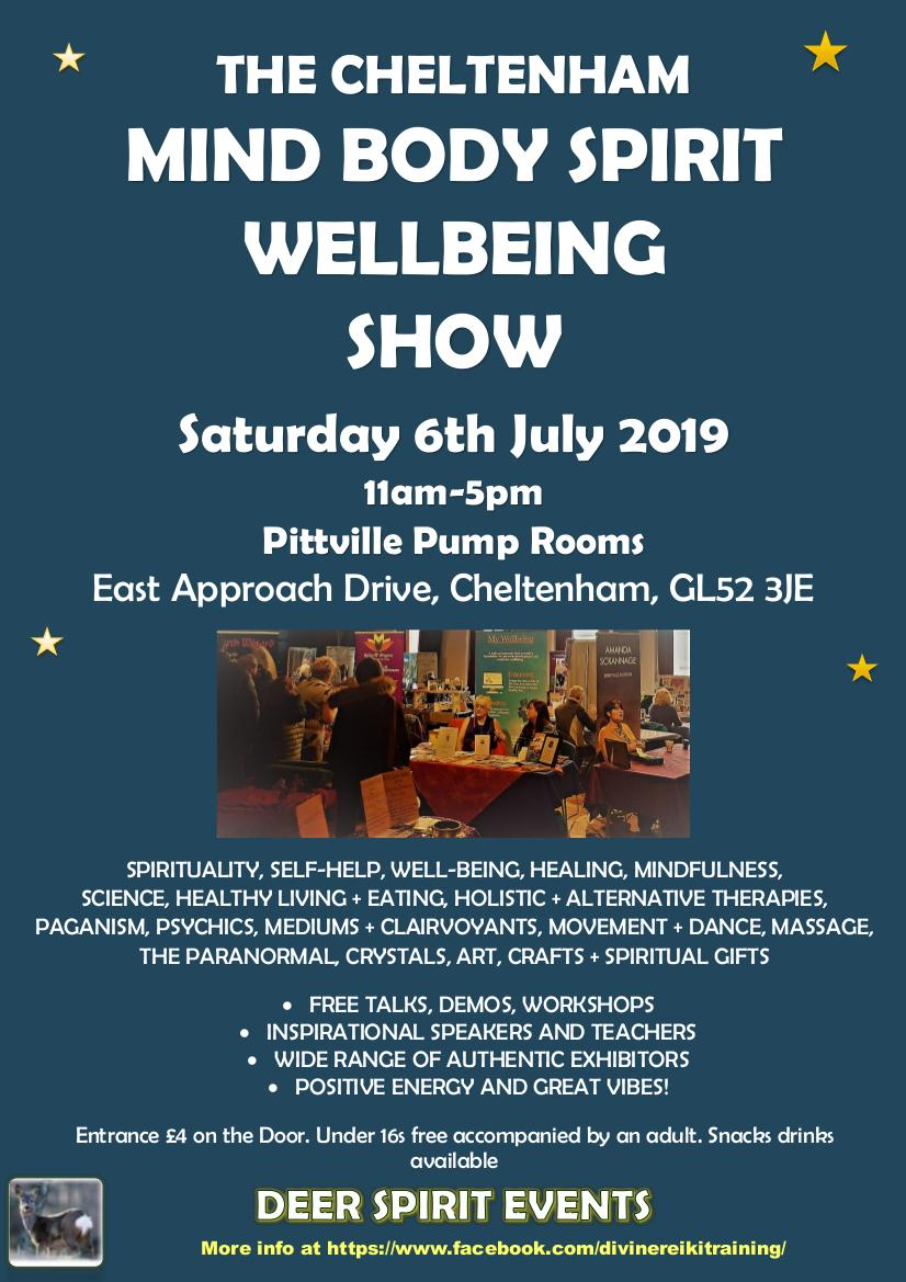 The Cheltenham Mind Body Spirit Wellbeing Show Pittville Pump Room