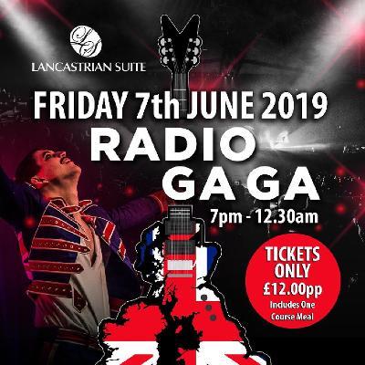 Radio Gaga - Queen Tribute | THE LANCASTRIAN SUITE DUNSTON GATESHEAD