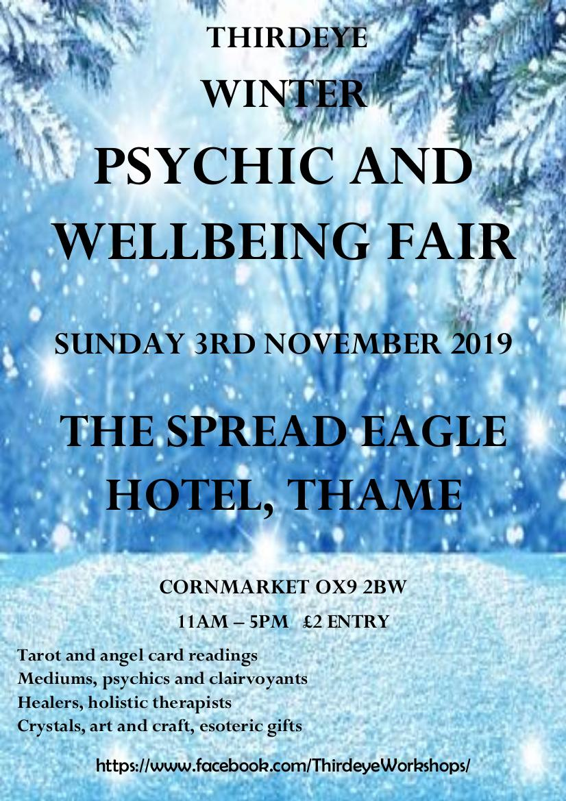 Thirdeye Winter Psychic and Wellbeing Fair Thame | The