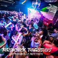 Throwback Thursdays at Piccadilly Institute - Refreshers Party