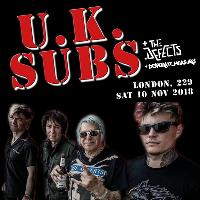 U.K. Subs + The Defect + Desperate Measures