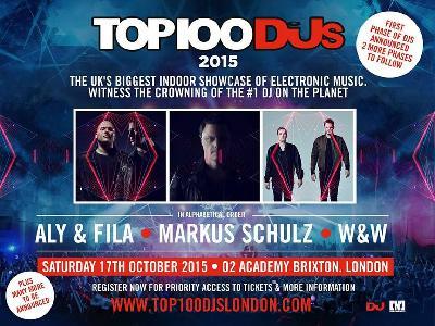 DJ Magazine Top 100 DJs Poll Party