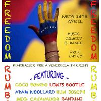 FREEDOM RUMBA - fundraiser for Venezuelan's in crisis