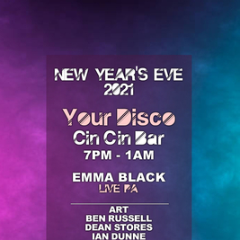 Your Disco New Year's Eve