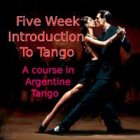 5 Week Argentine Tango Taster Course