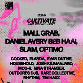 Cultivate 2021 - Bank Holiday Sunday