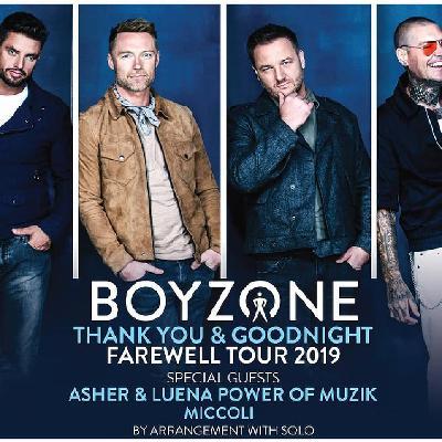 Boyzone - Thank You & Goodnight The Farewell Tour