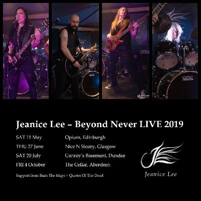 Jeanice Lee - Beyond Never LIVE - Dundee