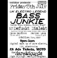 Resistor Presents Bass Junkie