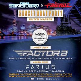 Trance Sanctuary & Friendz Sunset Boat Party 2021