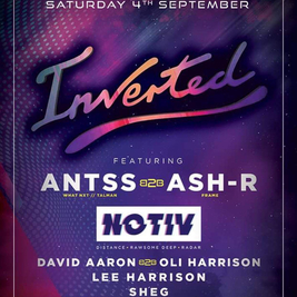 INVERTED Presents Antss B2B ASH-R