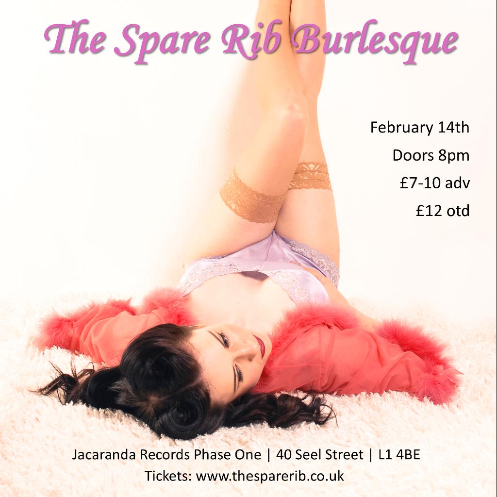 Valentine's at The Spare Rib Burlesque