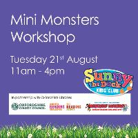 Mini Monsters Workshop at Castle Quay Shopping Centre