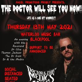 Doctor and the Medics, an evening with Clive Jackson