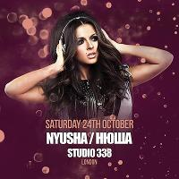 NYUSHA LIVE IN CONCERT AT STUDIO 338 LONDON