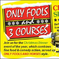 Only Fools & 3 Courses Comedy Dining