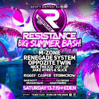 Resistance BIG Summer Bash!