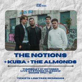 The Notions + Kuba + The Almonds + Cloud 9ine