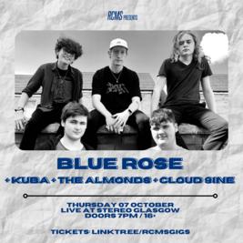 Blue Rose + Kuba + The Almonds + Cloud 9ine
