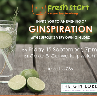 An evening of 'Ginspiration' - charity gin night