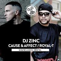 WAH w/ DJ Zinc, Cause & Affect, Royal-T, Taiki Nulight + MORE