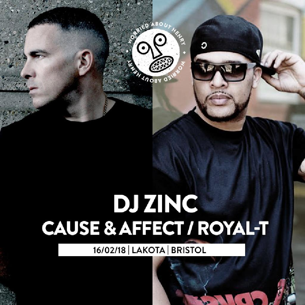 WAH w/ DJ Zinc, Cause & Affect, Royal-T, Taiki Nulight + MORE