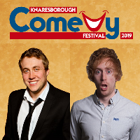 Tom Toal and Mark Simmons .. Knaresborough Comedy Festival