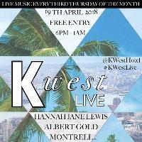 Free Gig: K West Live - 19 April