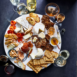The Cheese & Wine Brunch