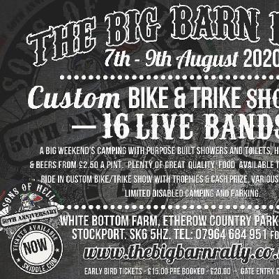 Big Barn Rally (SOH 50th Anniversary)
