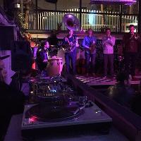 Live jazz jam and djs