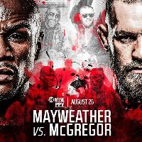Mayweather vs Mcgregor LIVE at Starworks Warehouse Sat 26th Aug