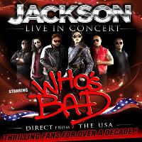 Sweeney Entertainments Presents Who's Bad - Jackson Live