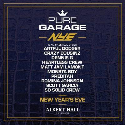 Pure Garage New Years Eve