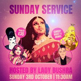 Sunday Service hosted by Lady Bushra
