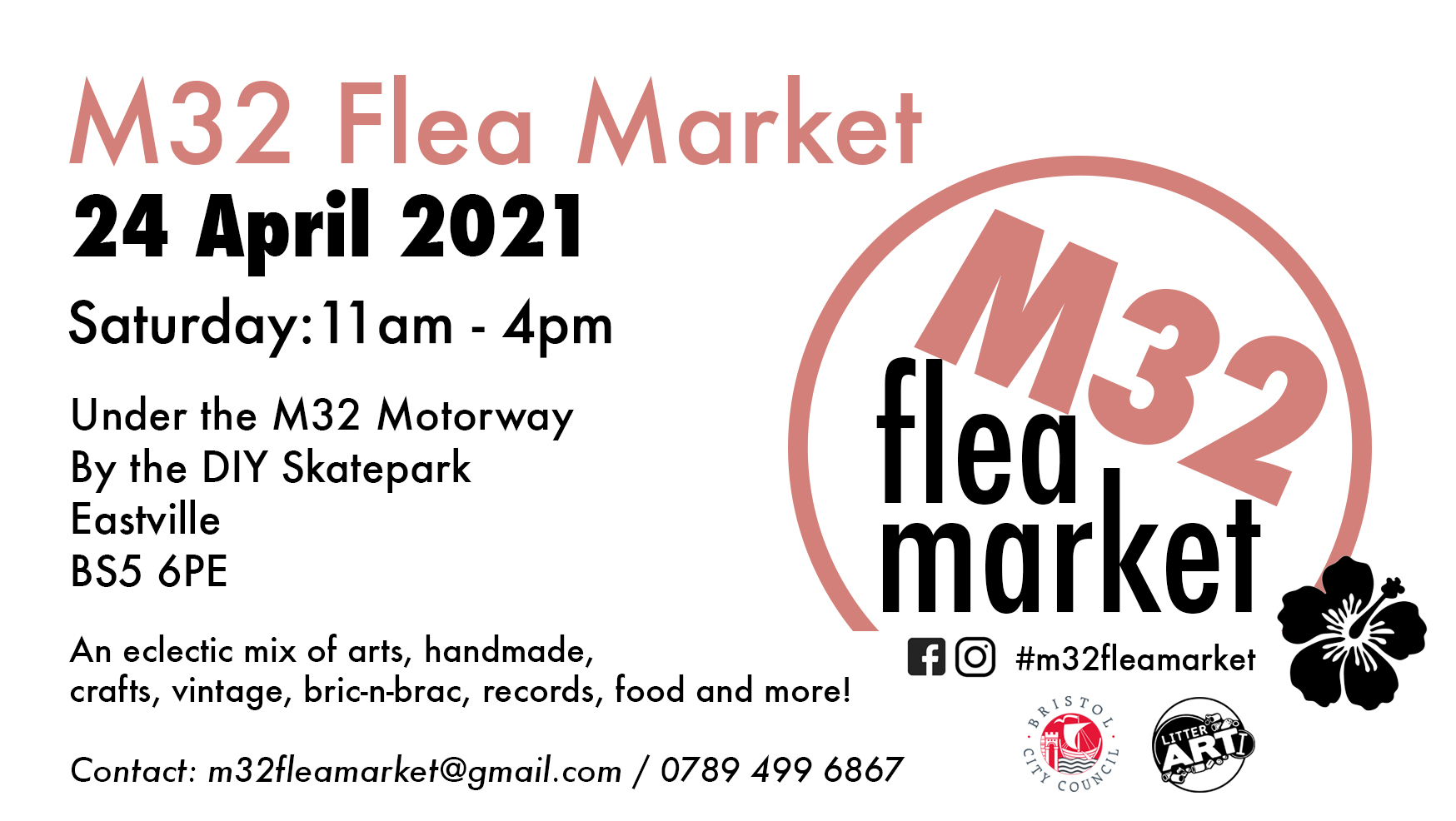 M32 Flea Market 24 April 2021 Tickets | M32 Underpass ...
