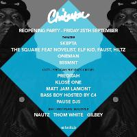 Chibuku Shake Shake reopening party Friday 25th September