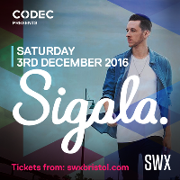 CODEC Presents - Sigala