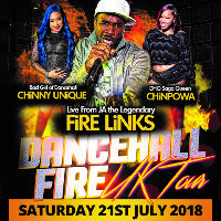 Dancehall Fire UK Tour