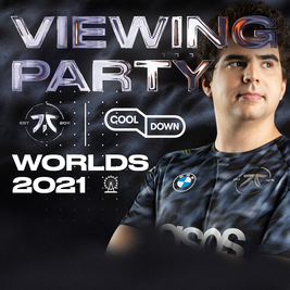 Worlds Viewing Party- Fnatic x Cooldown