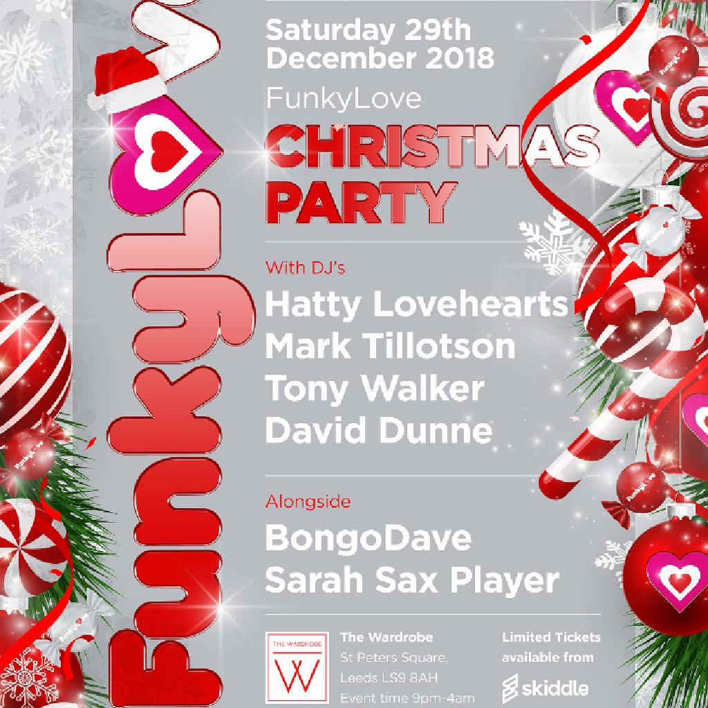 FUNKYLOVE CHRISTMAS PARTY Tickets | The Wardrobe Leeds | Sat 29th ...