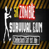 5k Zombie Survival Run - Inflatable Obstacle Course