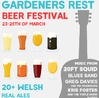 The Gardeners Rest Beer festival