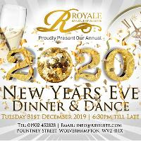 Royale Banqueting Suite NYE Party 2020