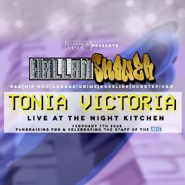 Venue: Hallamshower: Tonia Victoria LIVE | The Night Kitchen Sheffield  | Fri 7th February 2020