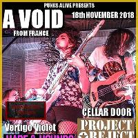 Punks Alive: A Void /Cellar Door /Project Reject /Vertigo Violet